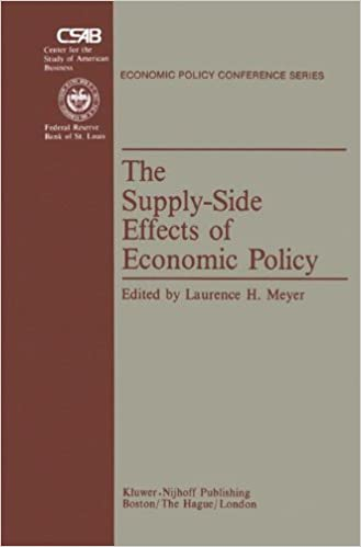 The Supply-Side Effects of Economic Policy (Economic Policy Conference Series)