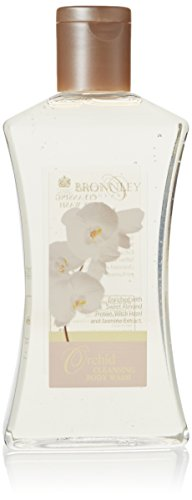 Bronnley England Orchid Cleansing Body Wash for Women, 8.69 Ounce