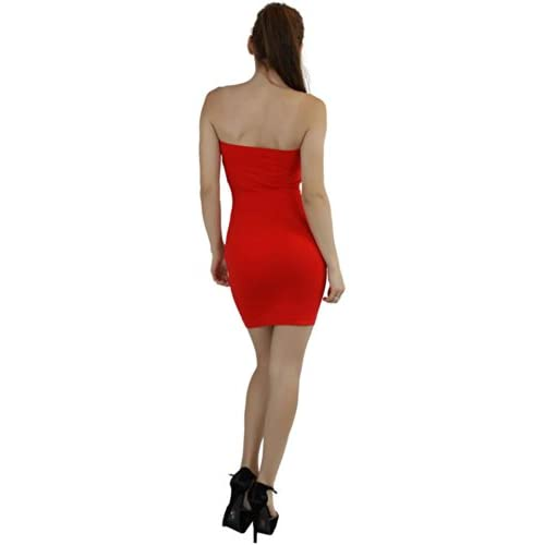 ToBeInStyle Women's Microfiber Seamless Strapless Stretchy