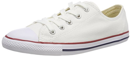 Converse CT As Dainty Ox White, Baskets Slip-on Femme, Wei? Optical White