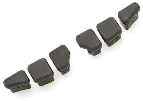 Kuryakyn 4486 Replacement Rubber Pad for Stiletto (Stiletto Stirrups)