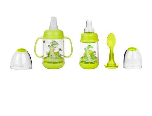 Nuby Nurtur Feeder Infant GREEN