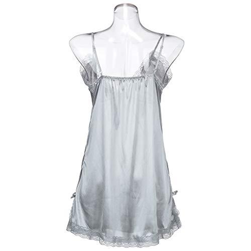 BOLUOYI Lingerie Plus Size Babydoll Nightwear Set Women Chemise Sleepwear by BOLUOYI (Image #8)