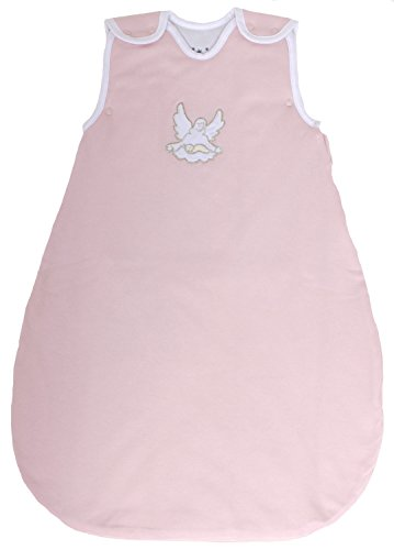 Baby Sleeping Bag, Quilted and Double Layered, 100% Cotton 2.5 Togs (Medium (10 - 24 (Quilted Sleepsack)