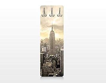 Apalis 75139 - Perchero de Pared Manhattan Dawn, 139 x 46 cm ...