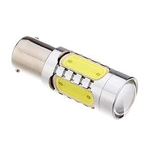 GDW S25 7.5W 1156 6000K Cool White LED Light Bulb (12V)