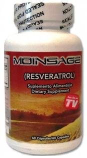 Moinsage Resveratrol 60 Capsules