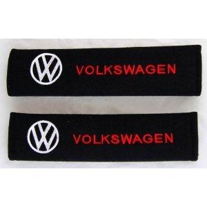 Volkswagen VW Seat-belt Shoulder Pads (Pair) (Volkswagen Belt compare prices)
