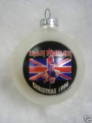 Iron Maiden 1996 Christmas Ornament