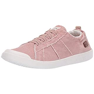 Blowfish Malibu Women's Vex Sneaker, Dirty Pink Smoked Canvas, 7.5 M US