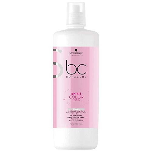 Schwarzkopf Professional BC Bonacure Color Freeze Silver Shampoo 1 Liter
