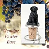 Flat-Coated Retriever Tiny One Bottle Stopper by Conversation Concepts