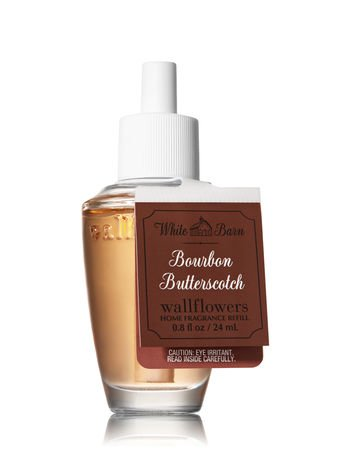Bath & Body Works Wallflowers Fragrance Refill Bulb Bourbon Butterscotch ()