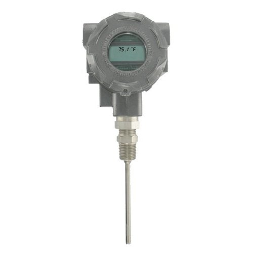 Dwyer Process Temp Transmitter, TTE-104-W-LCD, Expl-Proof, 4-20 mA Output, 4'' Probe, LCD