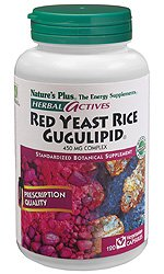 Nature's Plus - Herbal Actives Red Yeast Rice/Gugulipid 450 mg Complex, 120 VCaps by Nature's Plus (Image #1)