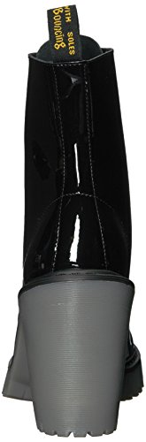 Martens Ankle Leather Black Boot Kendra Patent Dr Women's dtvqtf