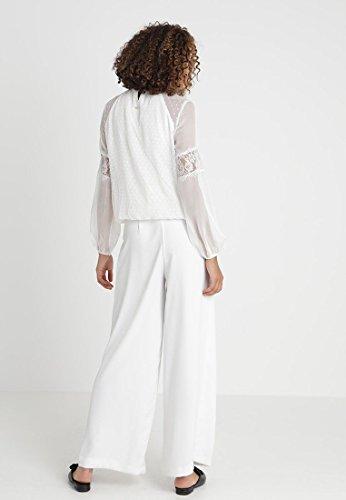 Donna White Guess Wool Elsa Blusa qznwAvp6xw