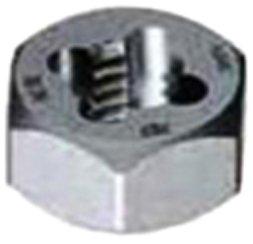 Gyros 92-92215 Metric Carbon Steel Hex Rethreading Die, 22mm x 1.50 Pitch by Gyros