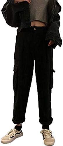 レディース ワイドパンツ カジュアル カーゴパンツ ポケット付き ハイウエスト 長 ズボン 秋 春 ワイド 大きいサイズ 美脚 着痩せ ゆったり S ~ 2XL ロングパンツ トラックパンツ 日常 通勤 運動着 作業ボトムス