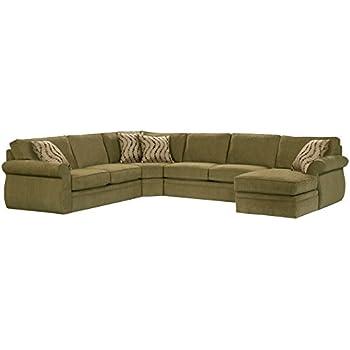 Amazon.com: Broyhill Veronica seccional sofá Chaise con ...