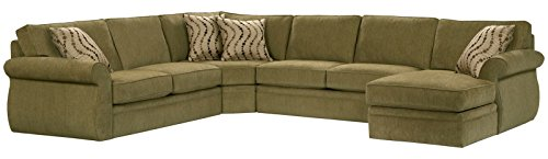 Broyhill Veronica Sectional Sofa with Right Arm Facing Chaise