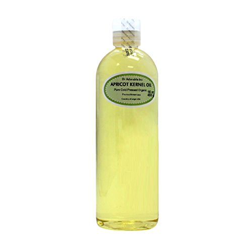 16 Oz Apricot Kernel Oil 100% Pure Organic Cold Pressed For Skin Hair And Health
