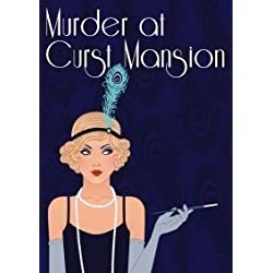 Red Herring Games Murder at Curst Mansion - murder mystery game for 12 players