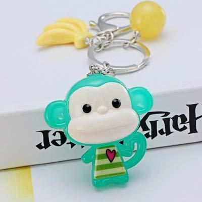 Rarido - Llavero con diseño de mono de dibujos animados ...