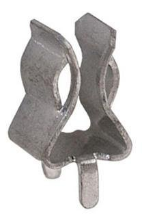 Eaton BUSSMANN Series 5960-63 Fuseholder, Clip, Mouting Hole, 13/32 inch, Bronze, Bright Tin Plated, End Stops