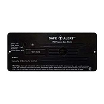 Safe T Alert RV Trailer Classic Lp Gas Alarm Flush Mount Black 30-442-P-BL