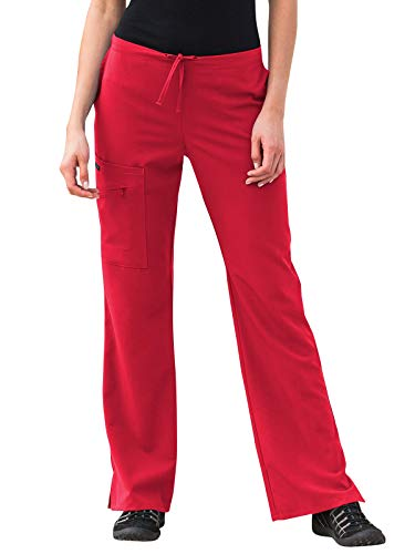 Jockey Athletic Shirt - Jockey 2249 Women's Scrub Pant - Comfort Guaranteed Red M