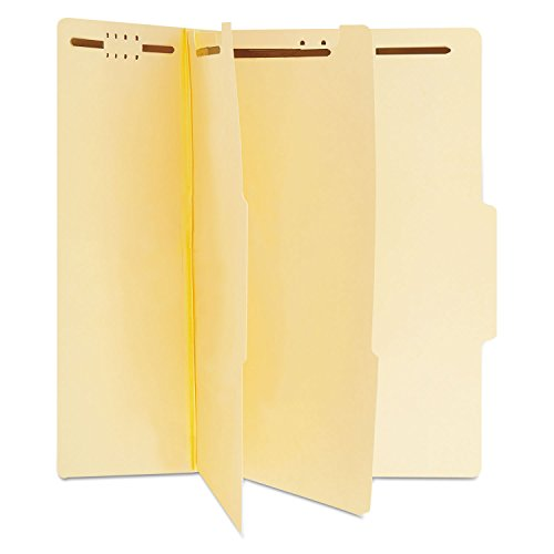 Universal 10300 Manila Classification Folders, Letter, Six-Section, 15/Box Letter Six Section