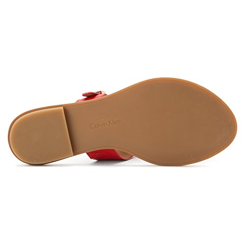 Sandal Red Toe Ring Ula Calvin Klein Women's vxPqqaT