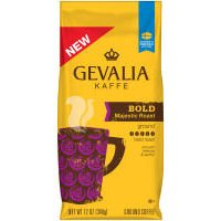 Gevalia Kaffe Ground Coffee Bold Majestic Roast, 12 OZ (Pack of 6)