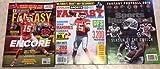 Fantasy Football 2019 Combo Beckett, Athlon Sports & Sports Illustrated Magazine