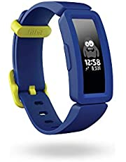 Fitbit Ace 2 Activity Tracker for Kids Swimproof with Fun Incentives & up to 5 Day Battery - Night Sky + Neon Yellow