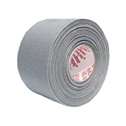 M-Tape Colored Athletic Tape - Gray, 6 Rolls