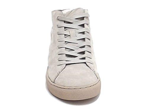 Crime scarpa uomo, 11292, sneakers nabuk beige