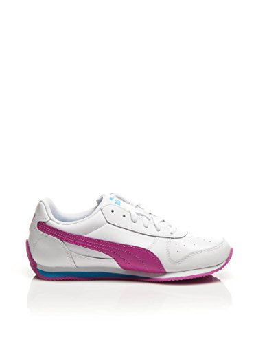 PUMA Sneaker Fieldsprint L Jr Bianco/Viola EU 38