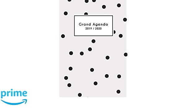 Grand Agenda 2019 2020: 18 mois Agenda de Juillet 2019 à ...