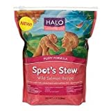 Halo Spot's Stew Wild Salmon Recipe Puppy Formula Dry Dog Food, 10-lb bag, My Pet Supplies