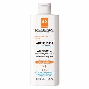 La Roche-posay Anthelios 50 Body Mineral Tinted Sunscreen, SPF 50 4.2 Fl Oz (125 Ml)