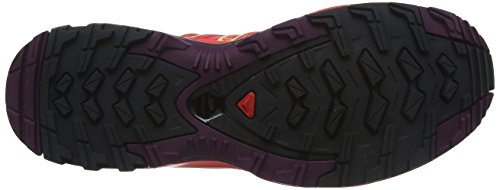 GTX Hibiscus Sulphur Potent de Calzado XA Pro Spring Purple Running 3D Naranja para Mujer Trail Salomon wpqSa14Ux