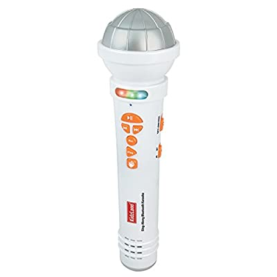 Kidzlane Kids Microphone Sing-A-Long Karaoke Machine Music Player with Bluetooth Connectivity and Built In Speaker