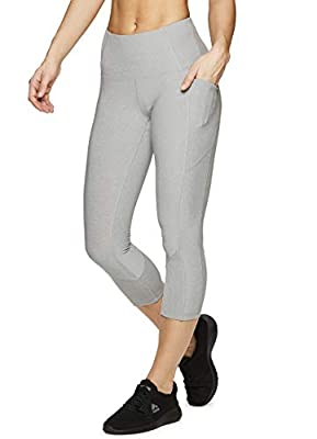 RBX Active Women's Solid Fashion Yoga Workout Leggings