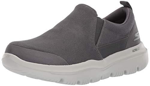 Skechers Men's GO Walk Evolution ULTRA-54736 Sneaker, Charcoal, 8.5 M US
