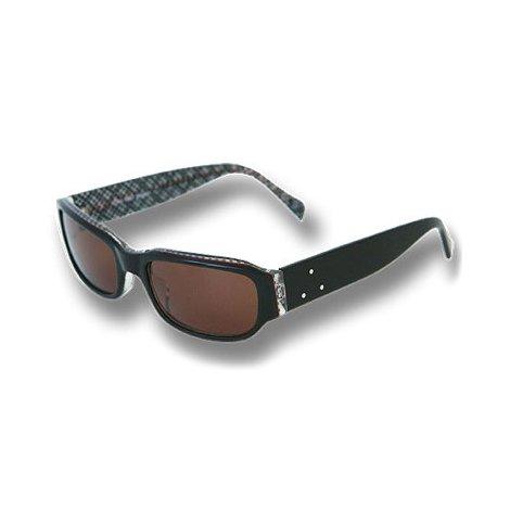 【FAB/ファブ】THE ROLL MODEL サングラス クリアレンズ UVカット ファッション スポーツサングラス 全8色 FREE BK×BROWNCHECK/brown   B077D6FVC3