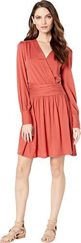 (Joie Women's Corelle Dress, Desert Spice, Red,)