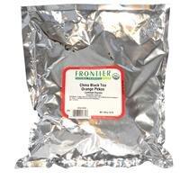 Frontier Bulk China Black (Orange Pekoe) CERTIFIED ORGANIC, 1 lb. - Package Black 1 Tea Lb