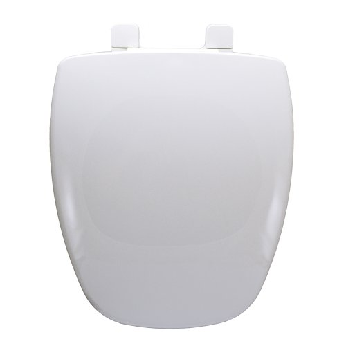 Comfort Seats C105000 Eljer Toilet New Emblem Elongated Closed Front with Cover